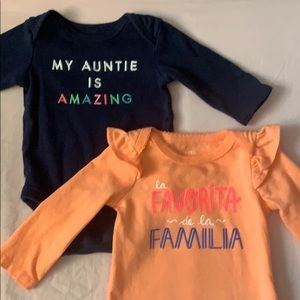 Fun & Colorful Onesies for your Newborn Baby Girl!